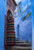 Souvenir in Medina of Chefchaouen, Morocco. Chefchaouen or Chaouen is a city in northwest Morocco. It is the chief town of the province of the same name, and is royalty free stock photos