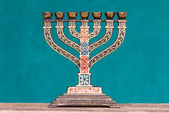 Souvenir menorah Royalty Free Stock Image