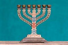 Souvenir menorah royalty free stock image