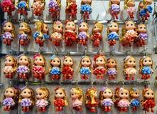 Souvenir Miniature Dolls Stock Image