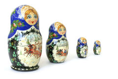 Souvenir national russe Photo stock