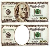 Souvenir one hundred dollars. Royalty Free Stock Photos