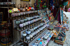 Souvenir orient store Royalty Free Stock Photography