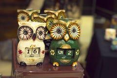 Souvenir owl in Torrevieja Stock Photos