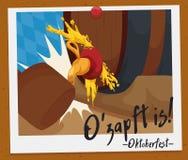 Souvenir Picture of Oktoberfest Stock Image