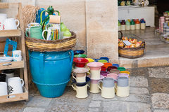 Souvenir. Polignano a mare. Puglia. Italy. Colorful souvenir. Polignano a mare. Puglia. Italy stock image