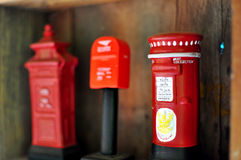 Souvenir post box Stock Photography
