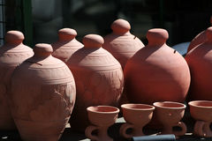 Souvenir pottery Stock Photography