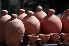 Souvenir pottery.  stock photography