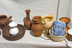 Souvenir pottery Royalty Free Stock Images