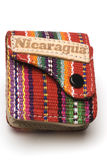Souvenir  purse nicaragua Royalty Free Stock Photography