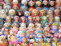 Souvenir russe - matreshka Photo stock