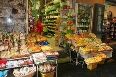 Souvenir's shop. A typical souvenir shop in the old historical center of sorrento in italy.december 2011 royalty free stock photos