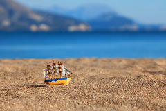 Souvenir sailing vessel Royalty Free Stock Photography