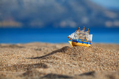 Souvenir sailing vessel Royalty Free Stock Photo