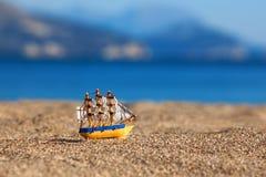 Souvenir sailing vessel Stock Photos
