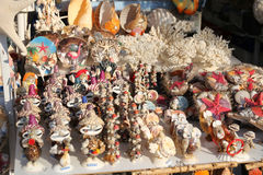 Souvenir Seashells in Bodrum Royalty Free Stock Photo