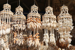 Souvenir Seashells in Bodrum Stock Photo