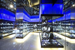 Souvenir shop. Luxury souvenir shop with a lot of products Royalty Free Stock Photo