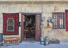 Souvenir shop in Baku old town Royalty Free Stock Photography