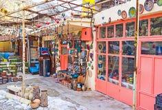 The souvenir shop Royalty Free Stock Image
