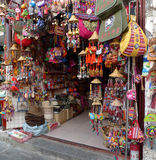 Souvenir shop in dali,yunnan,china Royalty Free Stock Photos