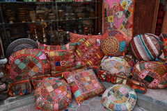 Souvenir shop in Dubai Stock Images