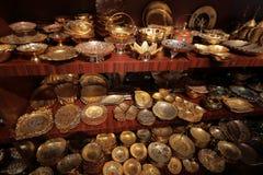 Souvenir shop in Dubai Royalty Free Stock Photo