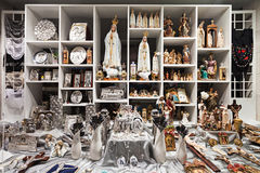 Souvenir shop, Fatima Royalty Free Stock Photography