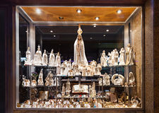 Souvenir shop, Fatima Stock Photos