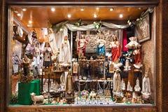 Souvenir shop, Fatima Stock Photo
