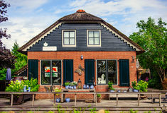 Souvenir shop in Giethoorn Stock Photo