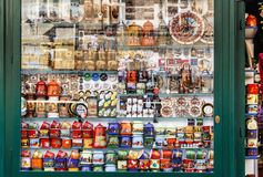 Souvenir shop at havels Market Stock Image