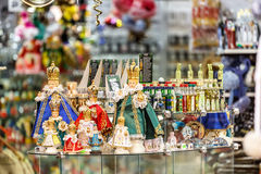 Souvenir shop at havels Market Royalty Free Stock Photo