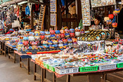 Souvenir shop at havels Market Royalty Free Stock Image