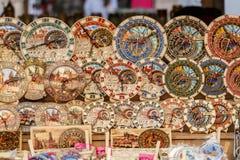 Souvenir shop at havels Market Stock Images