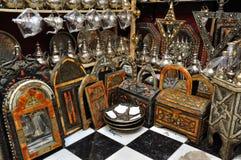 Souvenir shop in Marrakesh Stock Photo