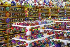Souvenir shop in Mexico Royalty Free Stock Image