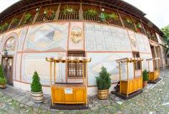 Souvenir shop near the monastery Bachkovski stock photography