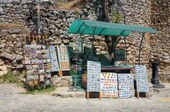 Souvenir shop in Ohrid,Macedonia Stock Image