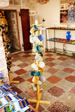 Souvenir shop in the Old Town of Kotor, Montenegro Royalty Free Stock Image