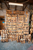 Souvenir shop in the old town of Sozopol in Bulgaria Stock Photo