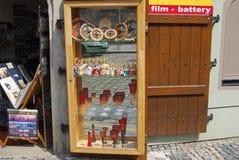 Souvenir shop, Prague. Royalty Free Stock Photos