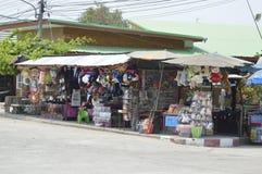 Souvenir shop in Prasat Hin Phanom Rung historical park at Thailand Stock Photos