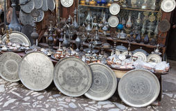 Souvenir shop in Saftanbolu Royalty Free Stock Image
