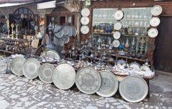 Souvenir shop in Saftanbolu Royalty Free Stock Image