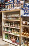 Souvenir shop sands. Of Jordan, is a publisher image vertical Royalty Free Stock Photo