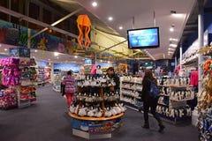 Souvenir shop of Sea Life Sydney Aquarium Stock Photos