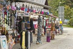 At the Souvenir Shop Stock Photos