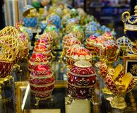 Souvenir shop in St. Petersburg, Russia. St. Petersburg, Russia - Oct 8, 2016. Souvenir shop at old market in St. Petersburg, Russia. Saint Petersburg has a Royalty Free Stock Image